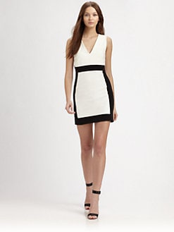 AIKO - Alexis Sheer-Trim Dress