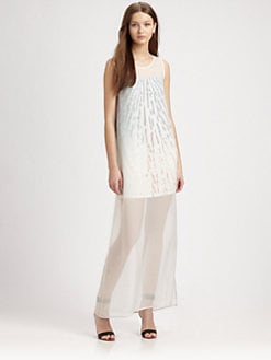 AIKO - Agathe Semi-Sheer Dress