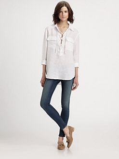 Equipment - Knox Linen Shirt