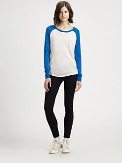Equipment - Kourtney Silk Baseball Shirt