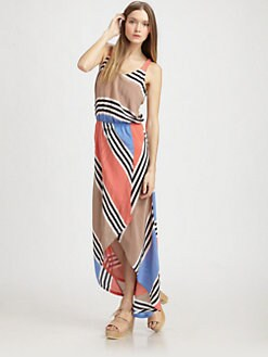 ADDISON - Striped Tank Dress