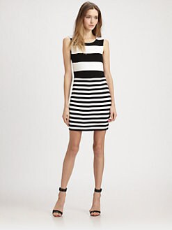 Bailey 44 - Delta Time Stripe Dress