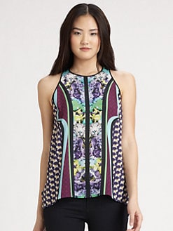 Clover Canyon - Graphic Printed Top