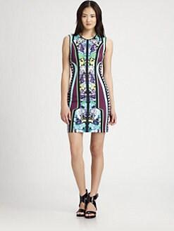 Clover Canyon - Graphic Printed Bodycon Dress