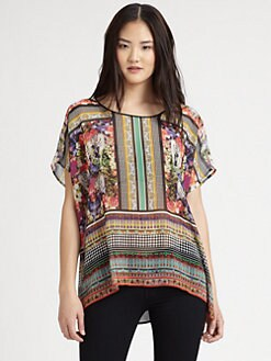 Clover Canyon - Printed Chiffon Top