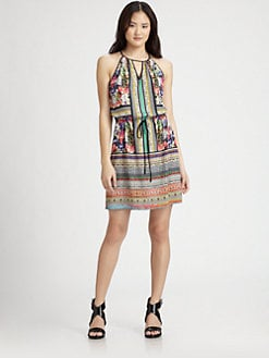 Clover Canyon - Printed Drawstring Dress