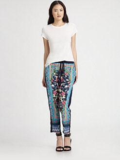 Clover Canyon - Printed Drawstring Pants