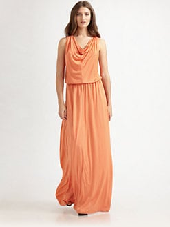 ADDISON - Modal Jersey Maxi Dress