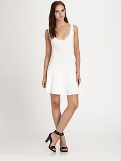 Torn - Luciana Textured Jersey Dress