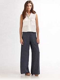 Something Else - Bugged Flare Pants