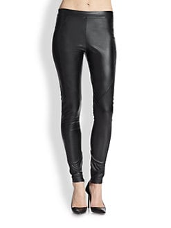 David Lerner - Faux-Leather Leggings