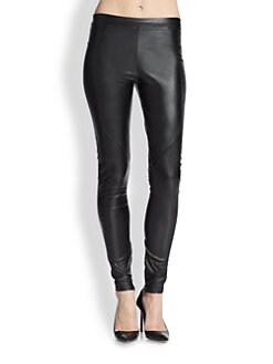 David Lerner - Faux Leather Leggings