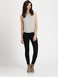 LNA - Ruby Striped Tank