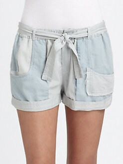 Shona Joy - Go Your Own Way Chambray Shorts