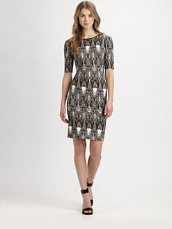 Sam & Lavi - Amari Scoopback Jersey Dress