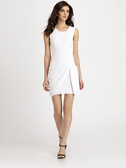 Bailey 44 - Draped Stretch Jersey Dress