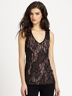 Bailey 44 - Bazaar Lace & Mesh Top