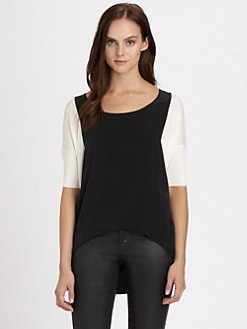 Bailey 44 - Kyoto Stretch-Silk Top