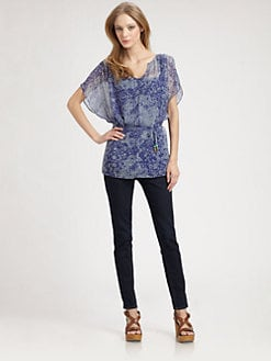 Ella Moss - Rio Silk Tunic Top