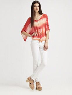 Gypsy 05 - Tie-Dye Drawstring Top