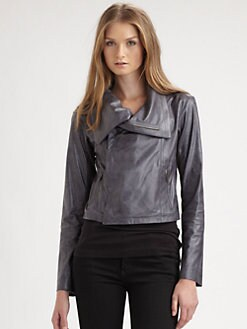 GEORGIE - Kristopher Suede Moto Jacket