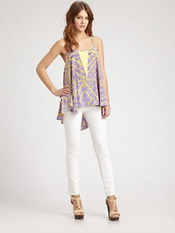 ADDISON - Silk Swing Top