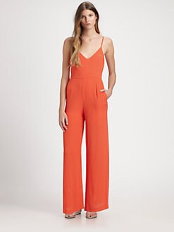 Line & Dot - Open-Back Jumpsuit