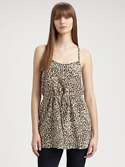 Tucker - Silk Drawstring Camisole