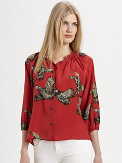 Tucker - The Silk Blouse