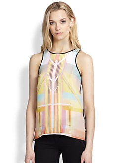 Clover Canyon - Printed Open-Back Tank