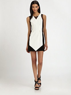 AIKO - Carlyne Contrast Dress