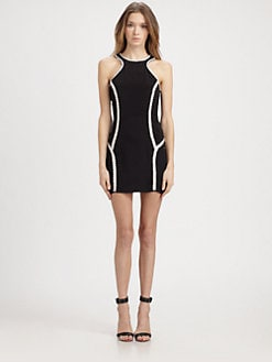 Parker - Bruna Emrboidered Silk Dress