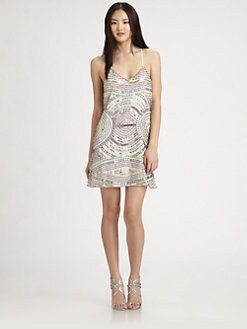 Parker - Finn Sequin Silk Dress