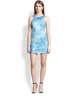 ADDISON - Joliet Printed Body-Con Dress