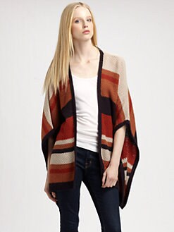 Design History - Striped Sweater Coat