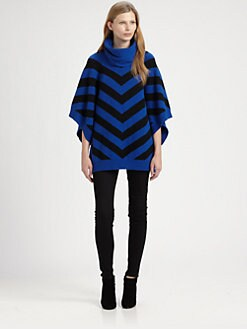 ADDISON - Poncho Sweater