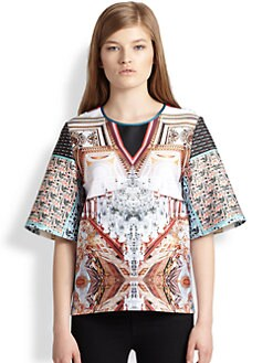 Clover Canyon - Printed Neoprene Top