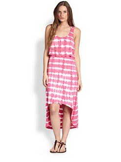 Design History - Tie-Dye Hi-Lo Dress