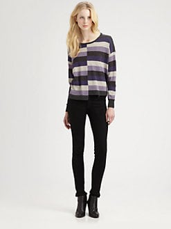 C&C California - Metallic Striped Sweater