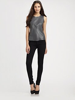 PJK Patterson J. Kincaid - Vena Leather Tank