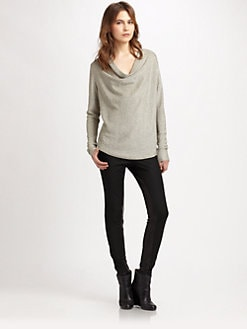 Generation Love - Fiona Draped Metallic Top
