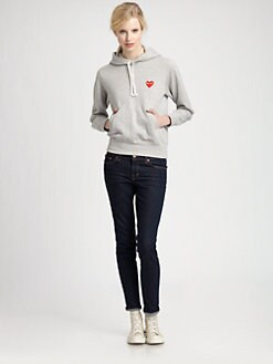 Comme des Garcons Play - Emblem Hoody