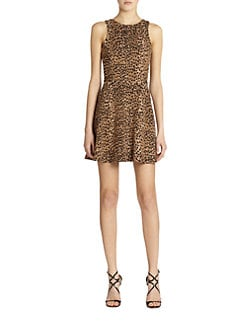 Mara Hoffman - Leopard Circle Dress