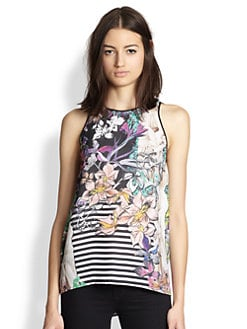 Clover Canyon - Enchanted Garden Printed Tank