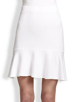 Bailey 44 - Scorpion Flared-Hem Stretch Jersey Skirt