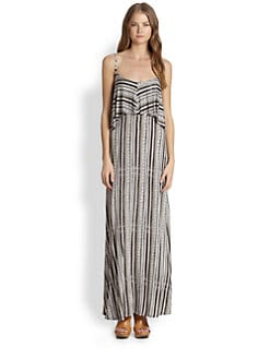 Ella Moss - Bondi Printed Tiered Maxi Dress