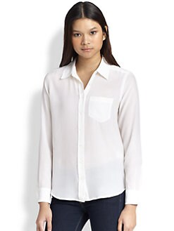 Equipment - Brett Silk Shirt
