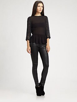 Sam & Lavi - Lee Peplum Top