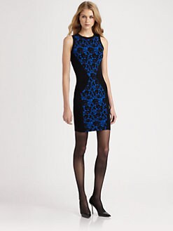 Torn - Bailey Lace Jacquard Dress