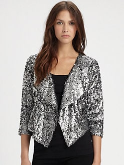 T-bags Los Angeles - Cropped Sequin Jacket